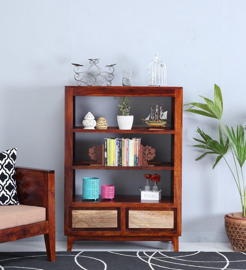 Anitz Display Unit in Dual Tone Finish by Woodsworth