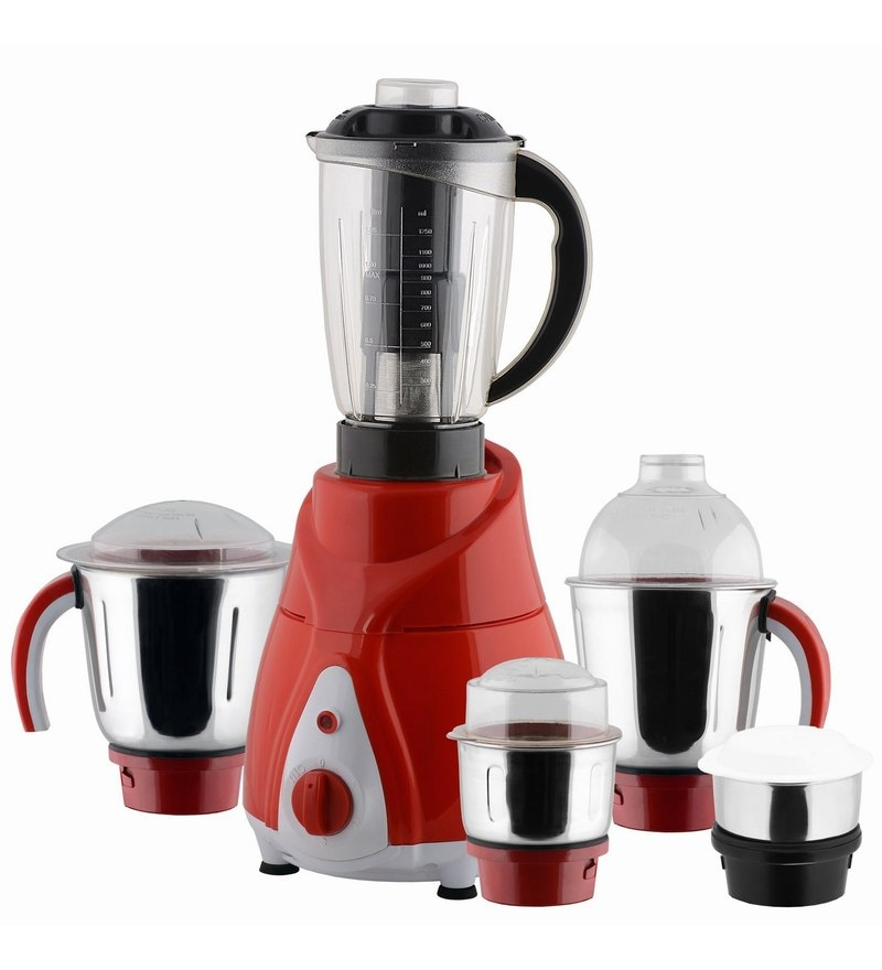 Anjalimix Spectra Mixer Grinder with 5 Jars 1000 Watts