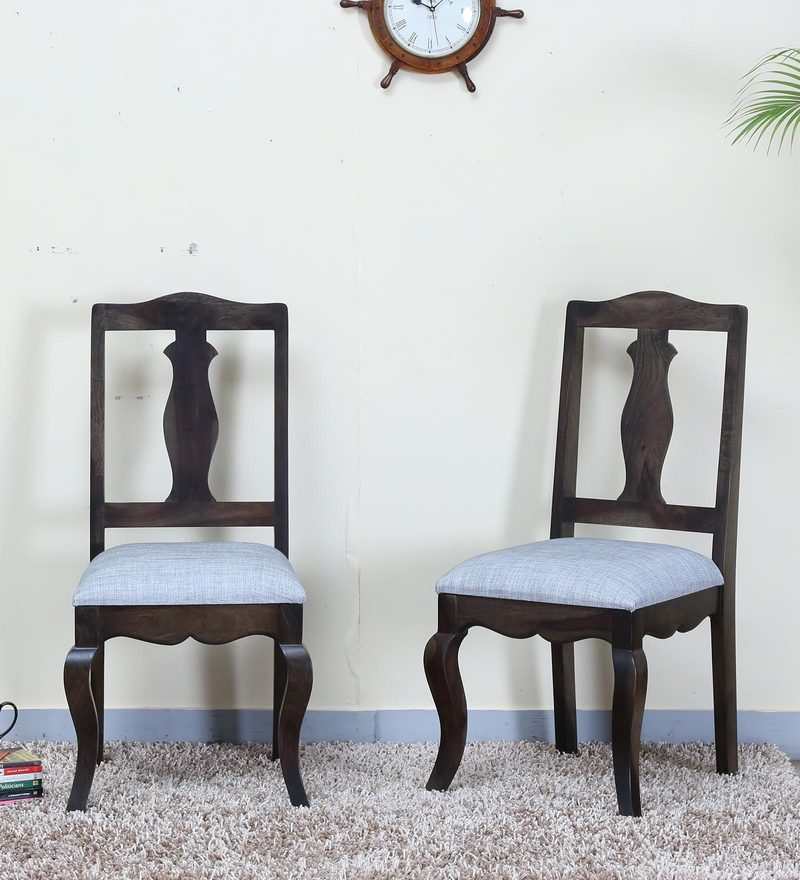 Anne Dining Chair (Set of 2)  in Warm Chestnut Finish by Amberville