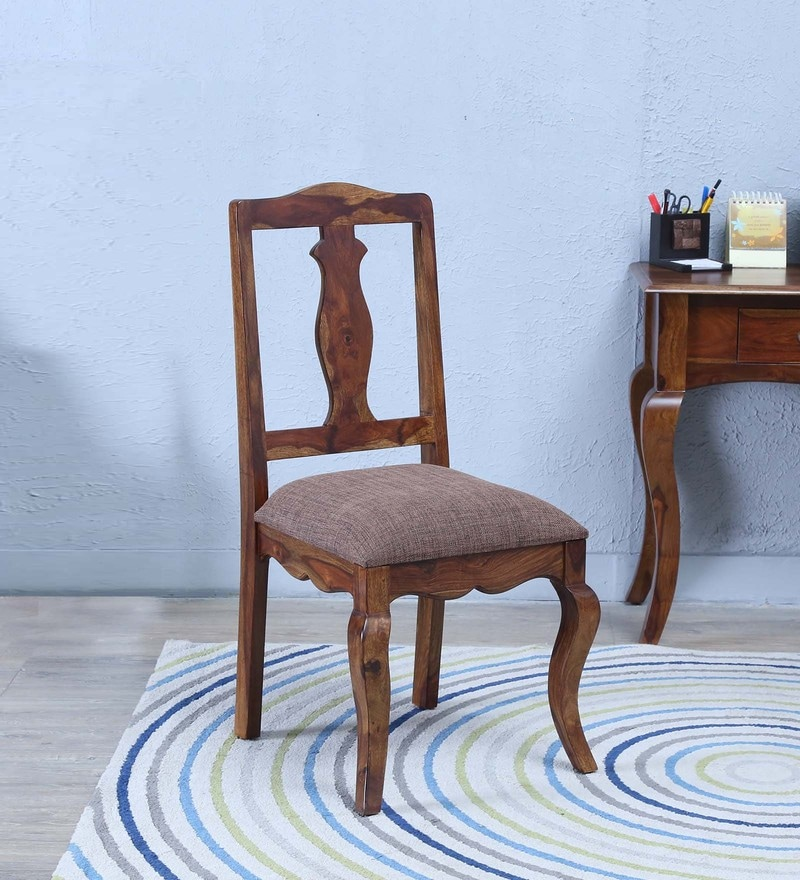 Anne Dining Chair in Provincial Teak Finish by Amberville