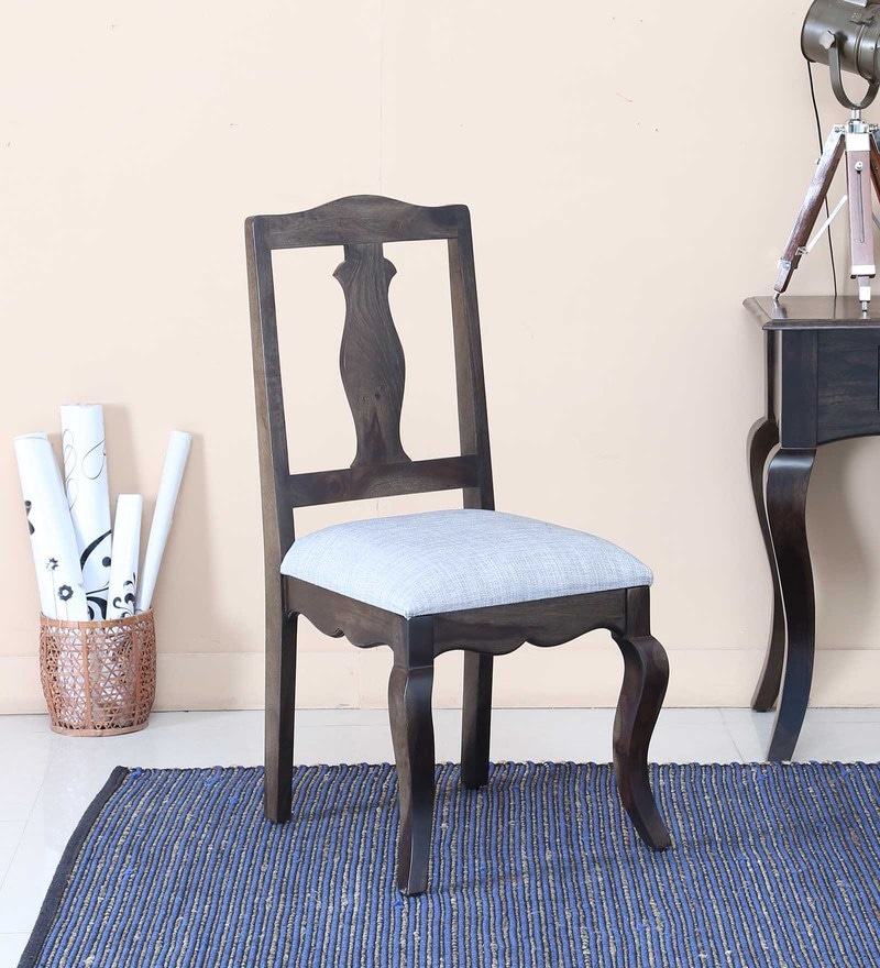 Anne Dining Chair in Warm Chestnut Finish by Amberville