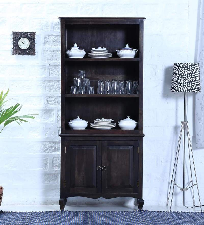 Anne Hutch Cabinet in Warm Chestnut Finish by Amberville
