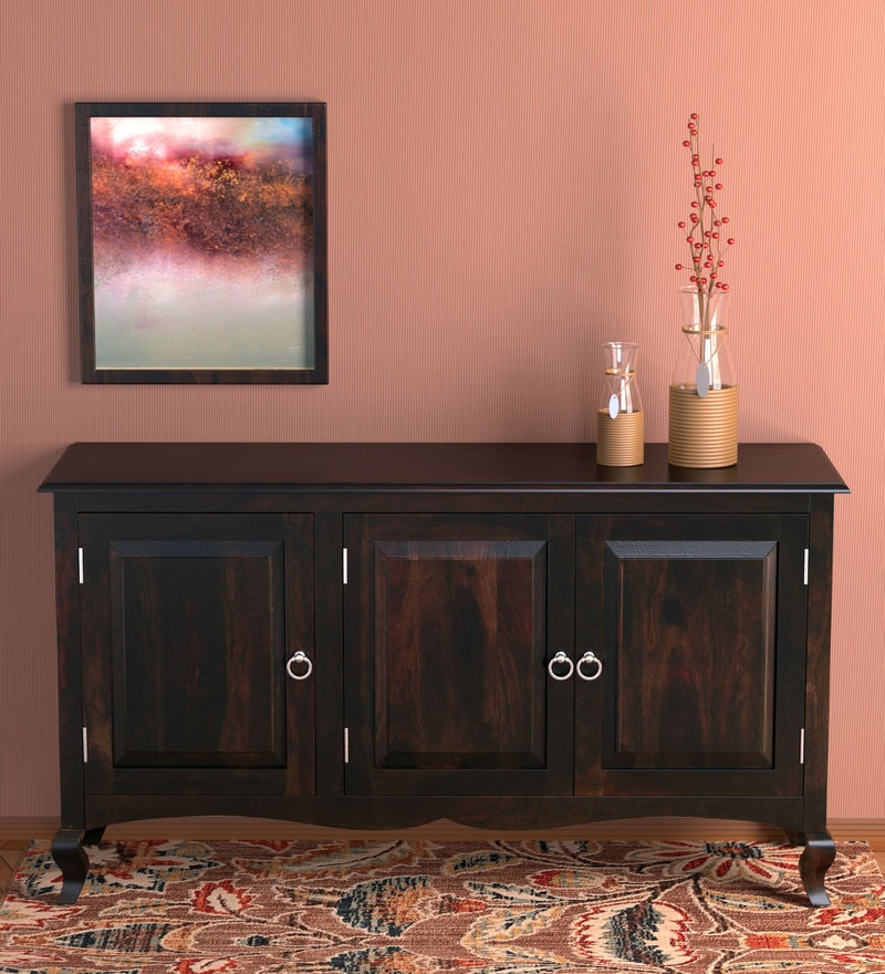 Astounding Buy Mandala Solid Wood Cabinet In Provincial Teak Finish By Creativecarmelina Interior Chair Design Creativecarmelinacom