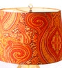Orange Cotton Lamp Shade by Anasa