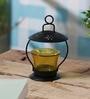 Yellow Glass Votive Tea Light Holder by Anasa