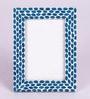 Anastacio Photo Frame in Blue by CasaCraft