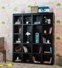 Oakland Book Shelf in Espresso Walnut Finish by Woodsworth