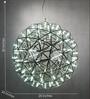 Silver Metal Pendant Light by Anemos