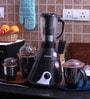 Anjalimix Insta 1000W Grey Mixer Grinder With 4 Jars