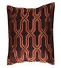 Dark Brown Cotton 16 x 16 Inch Cushion Cover by Anna Simona