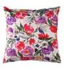 Anna Simona White Cotton 18 x 18 Inch Cushion Cover
