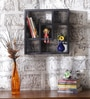 Panama Contemporary Wall Shelf in Grey by CasaCraft