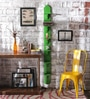 Rico Contemporary Wall Shelf in Green by Appu Art