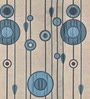 Blue Poly Viscose Window Blind by Presto