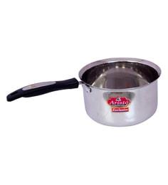 Aristo Flat Bottom 1250 ML Stainless Steel Sauce Pan