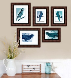 Art Street Synthetic Wood 29 X 22 Emporio Rich Photo Frame - Set Of 5 - 1605954