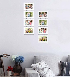 Art Street Synthetic Wood 31 X 20 Charming Chain Photo Frame - Set Of 8 - 1605950