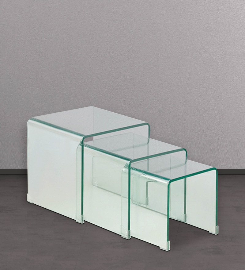 Arch Set of Transparent Tables by HomeHQ