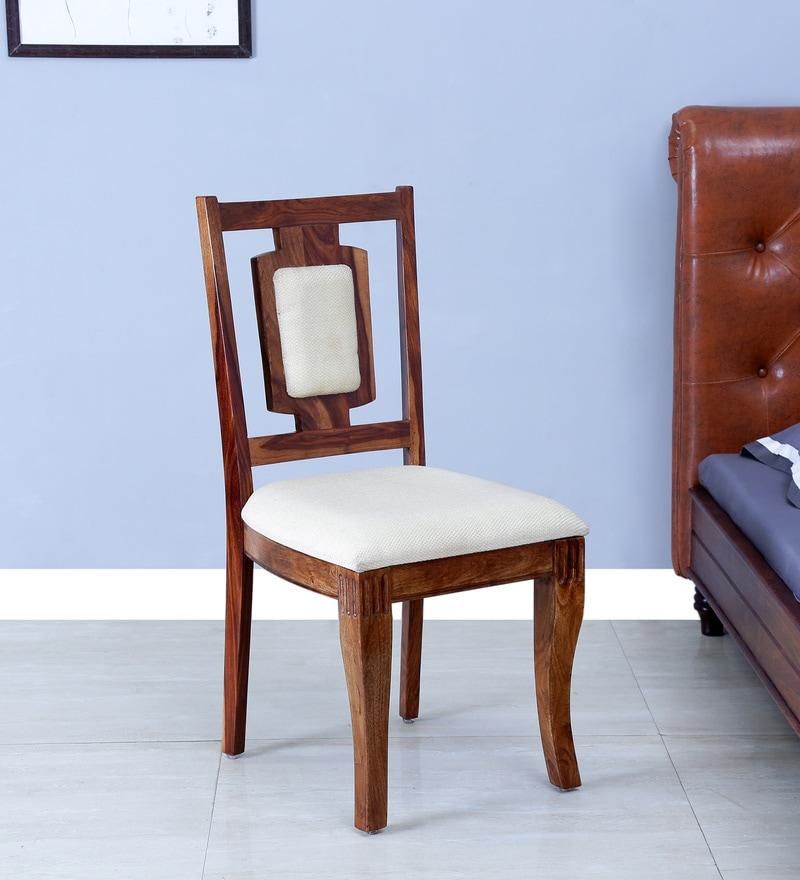 Arnot Dining Chairs in Provincial Teak Finish by Amberville