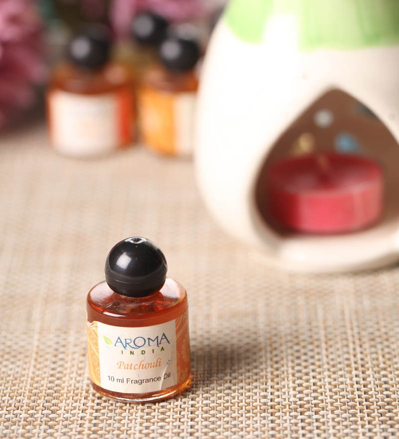 Patchouli Scented Oil Bottle by Aroma India