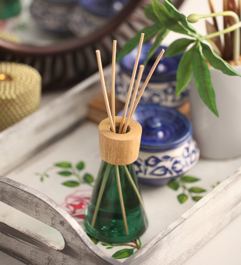 Green Apple & Berries Premium Reed Diffuser by Aroma India