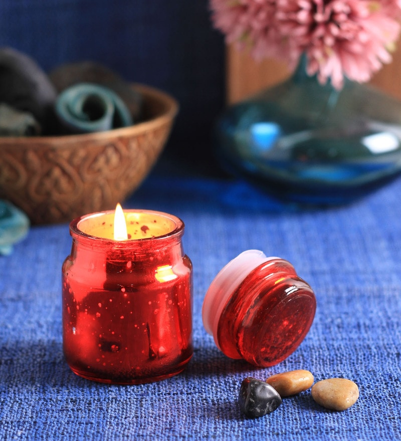 Rose Bell Candle by Aroma India