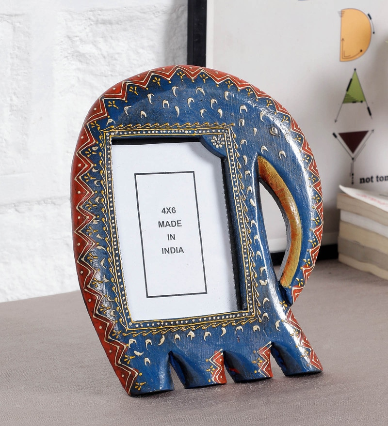 Multicolor MDF 4 x 6 Inch Photo Frame by Art of Jodhpur