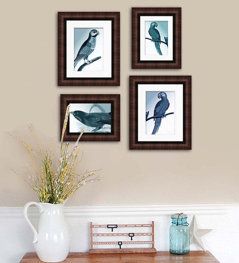 Synthetic Wood 21 x 25 Rich Photo Frame - Set of 4 by Art Street