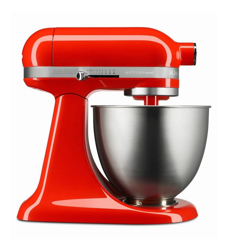 Artisan Mini Stand Mixer Hot Sauce 5KSM3311XBHT by KitchenAid