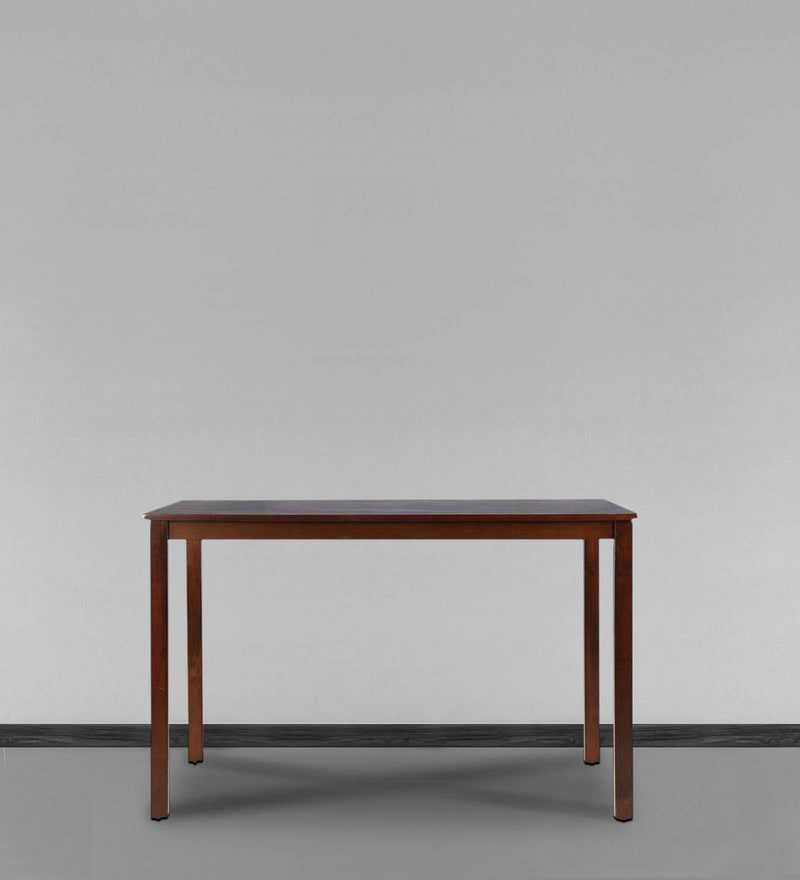 Artois Four Seater Dining Table in Dark Walnut Finish by HomeTown