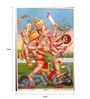 Original Oleograph - Ravi Varma Press(1892-1972) -Ahimheev Vadh - 10 X 14 Inch on Paper