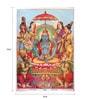 Original Oleograph - Ravi Varma Press(1892-1972) -Badrinath - 10 X 14 Inch on Paper