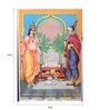 Original Oleograph - Ravi Varma Press(1892-1972) -Satyanarayan - 10 X 14 Inch on Paper