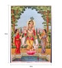 Original Oleograph - Ravi Varma Press(1892-1972) -Venugopal No2 - 10 X 14 Inch on Paper