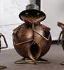 Art of Jodhpur Brown Metal Figurines - Set of 3