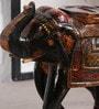 Art of Jodhpur Multicolor Solidwood  Showpiece