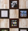 Collage Picture Brown Fiber Photo Frame by Art Street