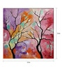 Art Zolo Canvas 12 x 12 Inch Season Pink Unframed Artwork Painting