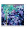 Art Zolo Canvas 12 x 12 Inch Season Violet Unframed Artwork Painting