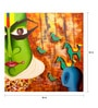 Art Zolo Canvas 36 x 36 Inch Me & The Mask Unframed Artwork Painting