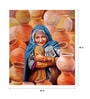 Art Zolo Canvas 40 x 40 Inch Pot Seller Unframed Artwork Painting
