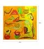 Art Zolo Canvas 47 x 47 Inch Yog & Bhog Unframed Artwork Painting