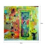 Art Zolo Canvas 53 x 53 Inch City Within Unframed Artwork Painting