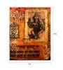 Art Zolo Canvas Board 8 x 10 Inch Ganesha Unframed Artwork Painting