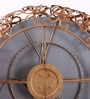 Artelier Copper Metal and Glass Spring Flower Mirror