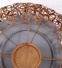 Artelier Copper Metal and Glass Spring Flower Large Mirror
