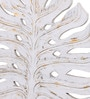 Artelier White Wooden Leaf Wall Panel