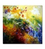 Canvas Quiet Flamboyance Framed Art Print by Artflute