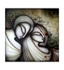 Canvas 24 x 1 x 24 Inch Madly In Love Framed Limited Edition Digital Art Print by Artflute