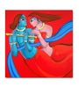 Canvas Couple Framed Art Print by Artflute